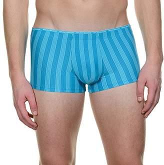 Bruno Banani Men's's Hipshort Rope Trunk Turquoise (türkis Stripes 474), (Herstellergröße: 6L)