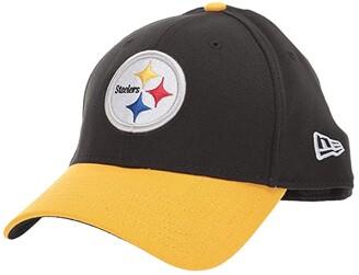 New Era NFL Team Classic 39THIRTY Flex Fit Cap - Pittsburgh Steelers (Black/Gold) Baseball Caps