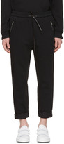 3.1 Phillip Lim Black Tapered Lounge Pants