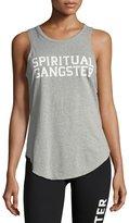 Spiritual Gangster Varsity Open-Back Studio Tank
