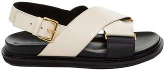 Marni Side-buckled Cross Strap Sandals