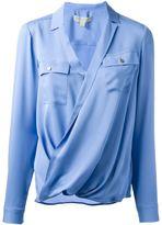 MICHAEL Michael Kors wrap blouse