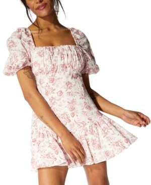 Thumbnail for your product : MinkPink Love Story Babydoll Dress