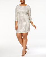 Jessica Howard Metallic-Dot Dress
