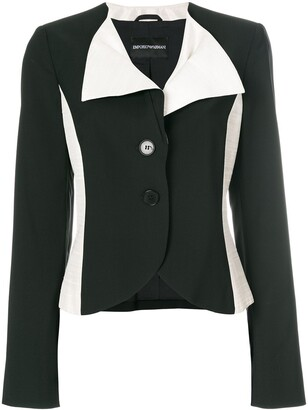 Giorgio Armani Pre-Owned color block blazer