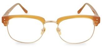Linda Farrow 51MM Rectangular Optical Glasses