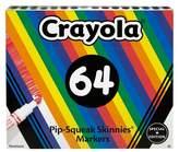 Crayola Poptimism Pip-Squeak Skinnies® Markers 64ct