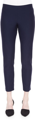 Eileen Fisher Washable Stretch-Crepe Ankle Pants