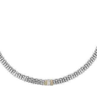 Lagos Diamond Lux Station Collar Necklace