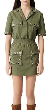 Maje Ramil Military-Style Dress