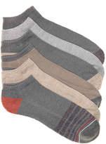 Lucky Brand Men's Cushioned Men's No Show Socks - 6 Pack