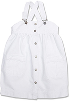 Marie Chantal Button Through Pinafore