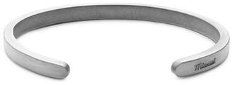 Miansai Sterling Silver Singular Cuff Bracelet