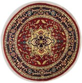 Ecarpetgallery eCarpet Gallery 184837 Hand-Knotted Serapi Heritage Medallion 4' x 4' 100% Wool Area Rug