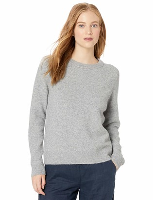 Daily Ritual Amazon Brand Women's Cozy Boucle Crewneck Pullover Sweater