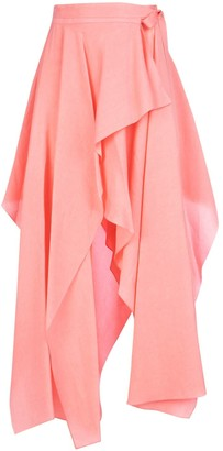 J.W.Anderson Asymetric Wrap Skirt