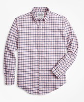 Brooks Brothers Regent Fit Check Flannel Sport Shirt