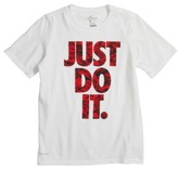 Nike Boy's Just Do It Dry Cotton T-Shirt