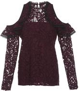 Alexis Millie Cold Shoulder Lace Blouse