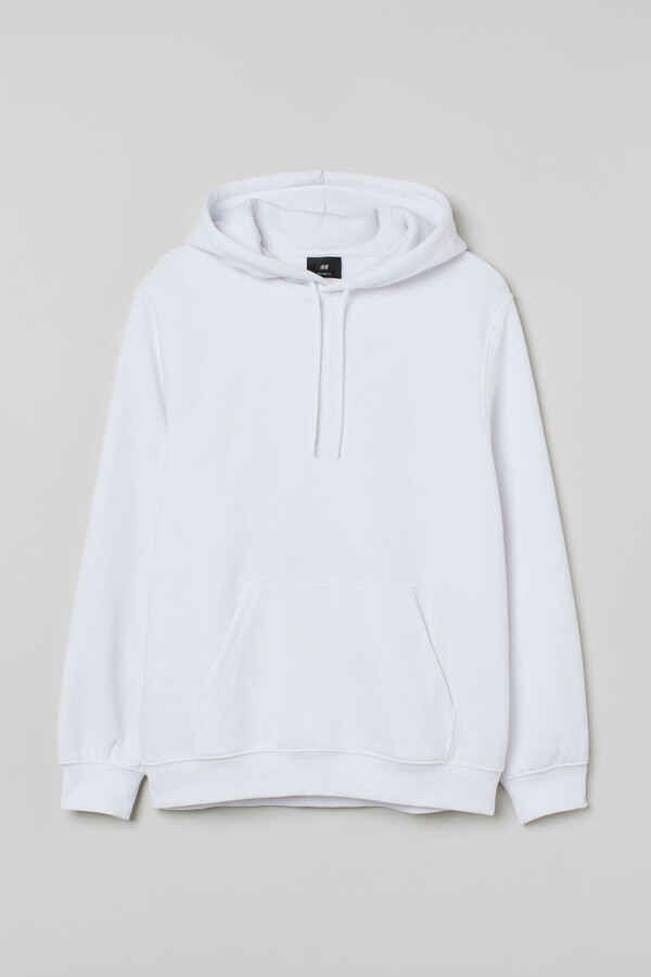 Thumbnail for your product : H&M Relaxed-fit Hoodie - White