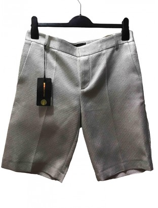 Zadig & Voltaire Spring Summer 2020 Silver Synthetic Shorts