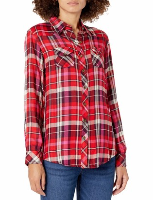 Angie Women's Plaid Top