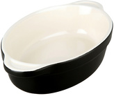 Denby Small 12cm Oval Ceramic Oven Dish - Jet Black