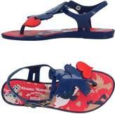 VIVIENNE WESTWOOD ANGLOMANIA + MELISSA Toe strap sandals