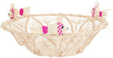 Mercedes Salazar Pink Fish Bread Basket