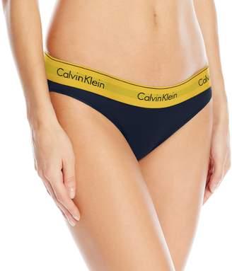 Calvin Klein Women's Modern Cotton Bikini