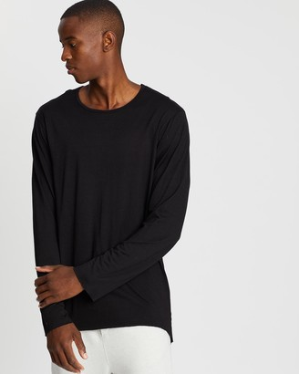 Surrounded By Ghosts The Trona Long Sleeve Merino Wool Tail T-Shirt