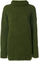 Cédric Charlier roll neck jumper - women - Polyamide/Wool/Alpaca - 40