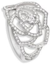 Piaget Rose Diamond & 18K White Gold Ring