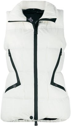 MONCLER GRENOBLE Quilted High-Neck Gilet