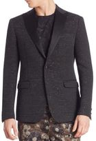 Versace Floral Jacquard Jacket