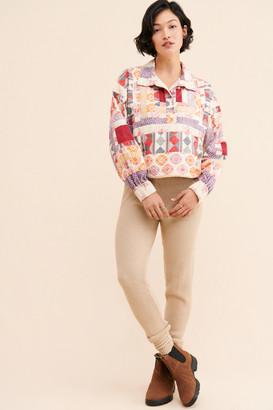 Kimchi & Blue Patchwork Summit Anorak Jacket