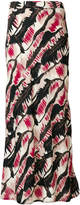 Marni patterned skirt