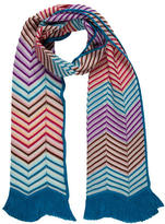 Missoni Patterned Wool-Blend Scarf