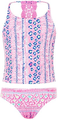 Monsoon Ava Tankini - Pink