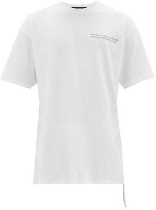 Ksubi Countdown Biggie Cotton T Shirt - Mens - White