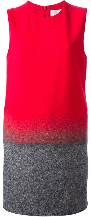 Victoria Beckham Victoria gradient shift dress