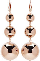 Isabel Marant Rose Gold Harvey Multi Sphere Earrings
