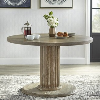 Ophelia Wilsonville Solid Wood Dining Table & Co.