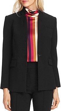 Vince Camuto Notched Stand-Collar Blazer