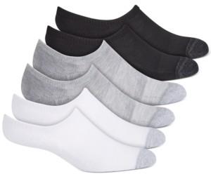 Warner's Women's 6-Pk. No Slipping No Sliding Invisible Cuff Cushion Sneaker Liner Socks