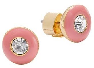 Kate Spade Candy Drops Ename Round Stud Earrings