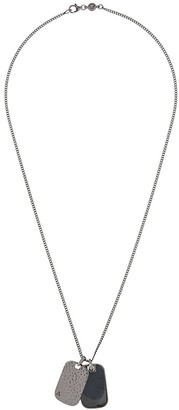 Northskull Twin ID Tag necklace