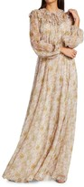 Thumbnail for your product : Giambattista Valli Floral Silk Maxi Dress