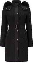 Phase Eight Lucilla Puffer Coat, Black