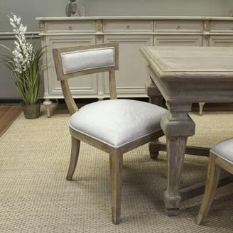 One Allium Wayâ® Embla Linen Side Chair in Beige One Allium WayA